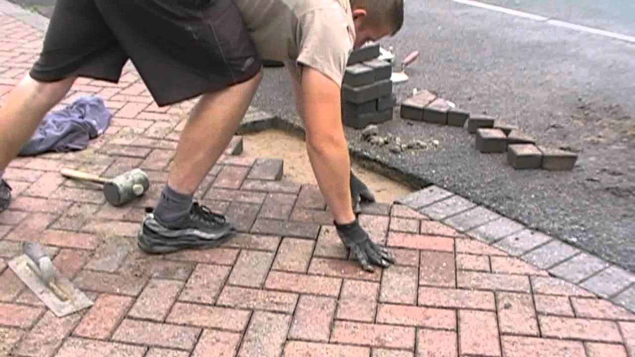 fix your interlocking pavers